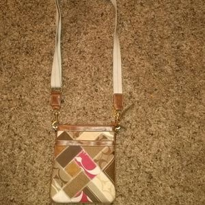 Coach Patchwork Crossbody Purse Bag